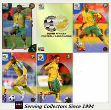 2010 Panini South Africa World Cup Soccer Cards Team Set South Africa (6)