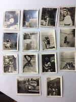 Rare Vintage Photos Circa 1945 Of 14 Pictures All Inscribed Miami Chattanooga