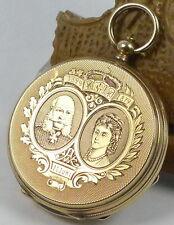 Weltrarität Kaiser-Uhr zur goldenen Hochzeit Kaiser Wilhelm I.& Kaiserin Augusta