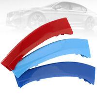 1x Couverture Housse Bande Grille Calandre M tricolore pour BMW X3 X4 F25 F26 BA