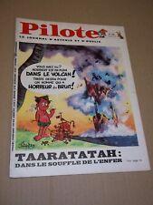 """PILOTE no 484"" (1969) ASTERIX / PILOTORAMA - LES MINCOPIES / GOTLIB / FRED"
