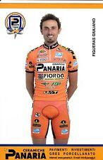 CYCLISME carte cycliste FIGUERAS GIULIANO équipe PANARIA ceramica