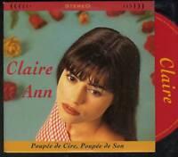 CLAIRE ANN Poupee De Cire, Poupee De Son 2 TR CARD SLV SERGE GAINSBOURGH