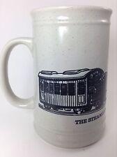 Train mug cup coffee Steam Locomotive Beautiful Iron Creature Raised