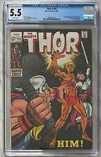 Thor #165 CGC 5.5 (WP) | 1st App of HIM (Adam Warlock) | Marvel Comics 1969