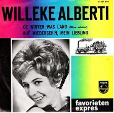7inch WILLEKE ALBERTI de winter was lang FAVORIETEN EXPRES EX (S1701)