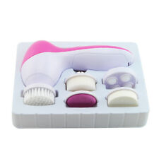 5 in 1 Facial Skin Care Massager Cleaner Electric Scrubber SPA Cleansing Tool