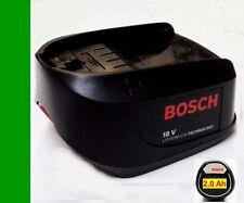 Original Bosch Akku 18 V Li .. 2.0 Ah   UNEO MAXX-PSR-PSB-AHS-ART. 2000 mAh