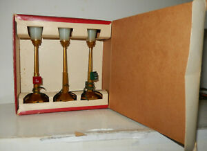 American Flyer 23778 BLVD Lamps Red & White OB Master Pack Close To New