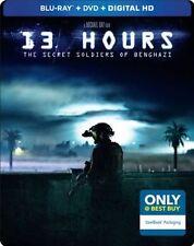 13 Hours: The Secret Soldiers of Benghazi (Blu-ray/DVD/Digital,Steelbook)New