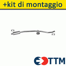 PEUGEOT 206 CC 1.6 110HP 2000-2005 Silenziatore Marmitta Centrale+