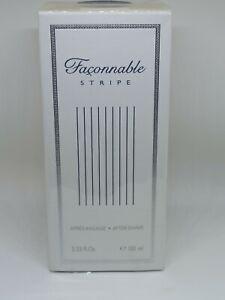 Faconnable Stripe After Shave For Men 3.33 oz 100 ml NIB