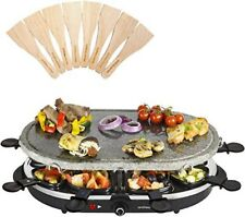 NEW - Andrew James Oval Stone Raclette Grill