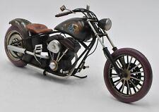 Handmade-Tin-Metal-Motorcycle-Model-1942-Indian Harley Motorcycles Gift Vintage