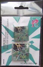 BOCCIA SG2985-Londra 2012 OLIMPIADI & PARAOLIMPICI pin badge & TIMBRO