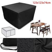 Patio Furniture Cover Waterproof Garden Covers forRattan Table Cube Seat Outdoor