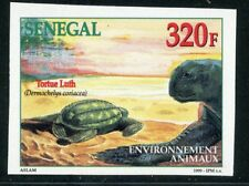 TIMBRE AFRIQUE SENEGAL / NEUF NON DENTELE N° 1515 ** FAUNE / TORTUE LUTH