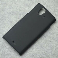 New Black Rubberized Matte Hard case cover for Sony Xperia Ray ST18i