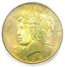 1925 Peace Silver Dollar $1 Coin - Certified ICG MS67 - $3,190 Guide Value!