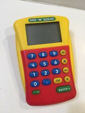 Educational Insights See 'N' Solve EL-8480 Red Yellow Big Keys Screen Learning