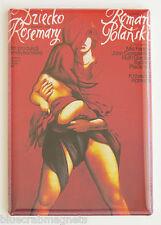Rosemary's Baby (Poland) FRIDGE MAGNET (2 x 3 inches) movie poster polish