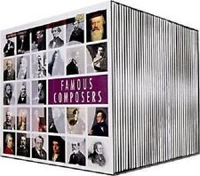 22811//COFFRET 40 CD FAMOUS COMPOSERS PREMIUM EDITION 40 CD BOX NEUF