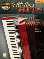 All-Time Hits Sheet Music Accordion Play-Along Book and CD NEW 000701706
