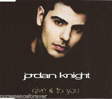 JORDAN KNIGHT - Give It To You (EU 4 Track CD Single)