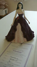 More details for royal worcester  figurine of the year 2002-charlotte-c & w-made england+cert