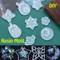 Kristall Herstellung von Schmuck Schimmel aus Resin Silicon Mold UV Epoxy