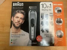 Braun 10-in-1 Trimmer MGK7221 Beard Trimmer Body Grooming Kit & Hair Clipper
