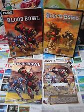 PC CD-Rom:Blood Bowl - Edition Collector [TOP & 1ERE EDITION] COMPLET - Fr
