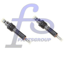 2pcs Fuel Injector for Case-IH Trencher Windrower Model 584E 585E 586E 8820 8830