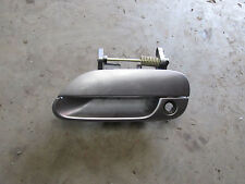 MAZDA MX5 MK2 MK2.5,PASSENGER N/S DOOR HANDLE IN TITANIUM GREY 25G