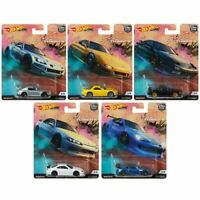 Hot Wheels 2019 Car Culture Street Tuners Series Set of 5 Cars FPY86-956L