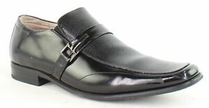 Stacy Adams Mens Beau Black Loafers Size 11 (1463252)