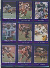 1989 JOGO Purple VariantCFL Football Cards #91-110 Very Rare MINTU-PickHam