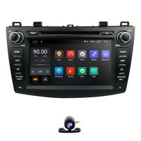 "CAM+ Android 9.0 Head Unit 8"" Car Audio DVD GPS Navigation for Mazda 3 2010-2013"