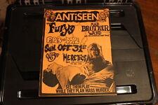 ANTiSEEN Charlotte NC (1993) Punk Flyer #1 / Poster murder junkies gg allin cos