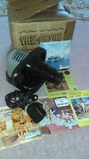 Vintage VIEWMASTER Projector with 5 Viewmaster Slide Packs 1950s to early 1960s