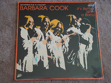 Barbara Cook Its Better With a Band NM LP STILL SEALED Digital Rec. Wally Harper