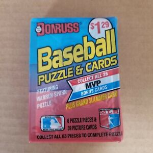 1989 Donruss Ken Griffey Jr. Rookie Card On Top of a Cello Pack