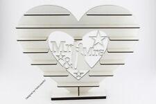 """Mr & Mrs"" - Ferrero Rocher Tree Couple WHITE  Wedding Stand or Centrepiece"