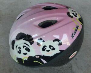 🐼 Toddler Bell Zoomer Panda Bike Helmet New Bicycle Pink Girl's