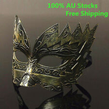 Gold Roman Gladiator Style Half Face Mask Masquerade Festival Party Ball Decor