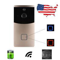 1080P Wireless WiFi Door bell Kit Video Camera Phone Ring Intercom Home Security