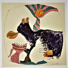"""JOHN ALTOON About Women 1966 GEMINI G.E.L. Ken Tyler LITHOGRAPH """"81/100"""""""
