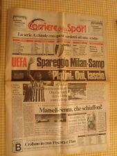 NAPOLI CAMPIONE D´ITALIA Copia Il Corriere dello Sport 18 MAGGIO 1987