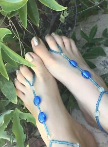 burgundy crystal,pink bead barefoot sandals tulip footwear beach accessory beaded anklet foot jewelry barefoot sandals
