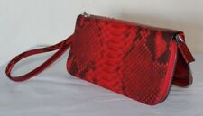 Genuine Python Skin Clutch New